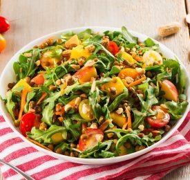 'Peanuts and Pulses' Summer Salad