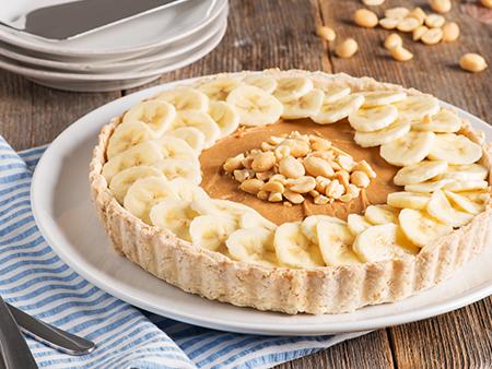 Nutty Banoffee Pie