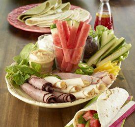 Watermelon Sandwich Wraps