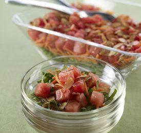 Gingered Japanese Watermelon Salad