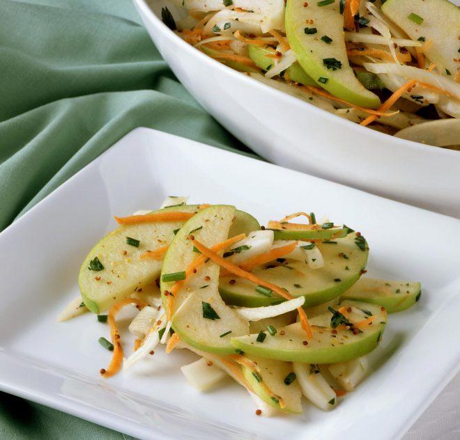 Salade de pommes Granny Smith et fenouil