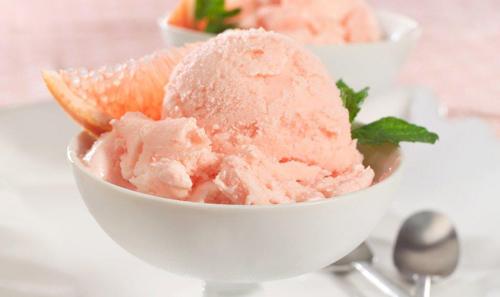 Texas Rio Star Grapefruit Frozen Yogurt