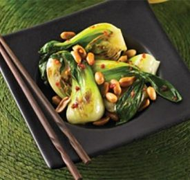 Bok Choy with Peanuts