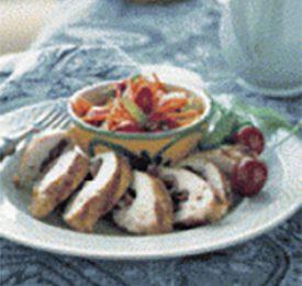 Cherry Stuffed Grilled Chicken