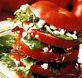 Fresh Tomato Napoleon