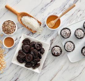 No-Bake California Prune Power Balls