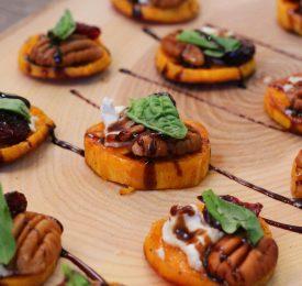 Savoury Sweet Potato Rounds