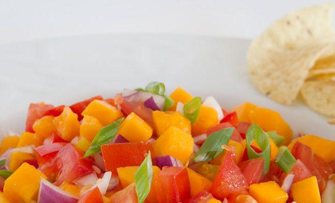 Palani's Papaya Salsa