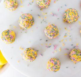 No Bake Lemon Truffles