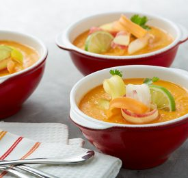 Lime and Ginger Carrot Soup