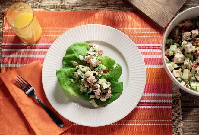 Florida Orange Juice Chicken Salad