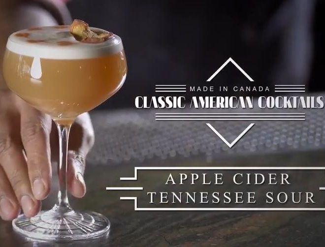 Apple Cider Tennessee Sour