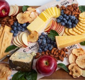 EVERYDAY CHEESE BOARDS WITH COSMIC CRISP APPLES