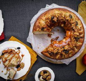 Le gâteau aux pommes des moissons