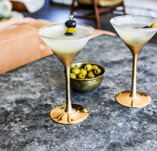 California Olive Dirty Martini